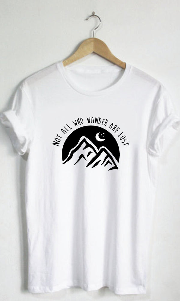 Not All Who Wander Are Lost Graphic Tee