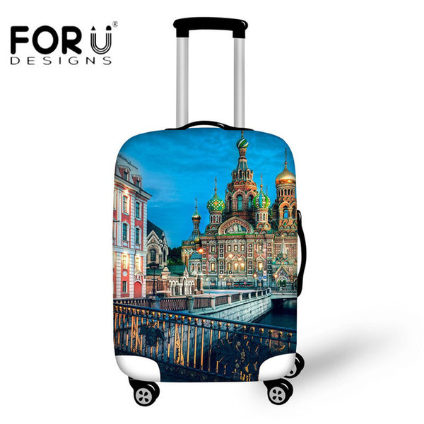 Travel Hard Shell Suitcase and Luggage Cover