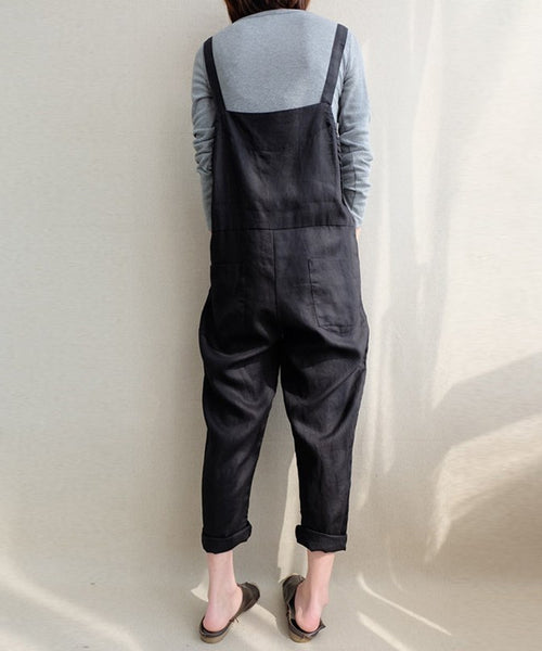Boyfriend Cotton Dungarees