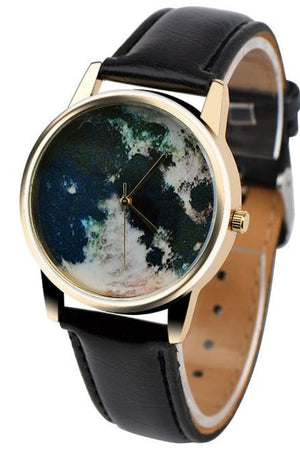 Timeless Map Travel Watch