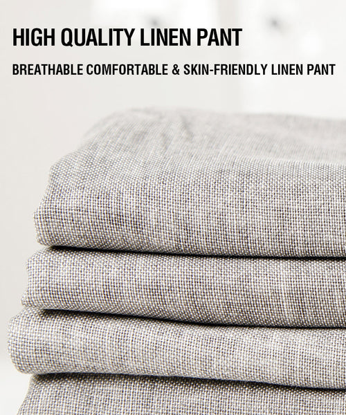 Linen Business Slacks