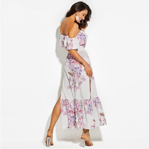 Date night flirty floral dress