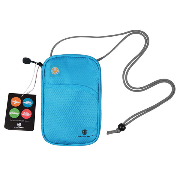 Security pouch travel organizer