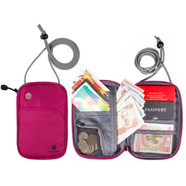 anti-theft security organizer wallet