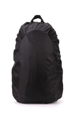 Waterproof suitable for outdoor use in keeping your backpack and belongings dry from rain.