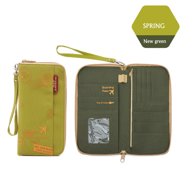 Travel Security Wallet and passport Holder