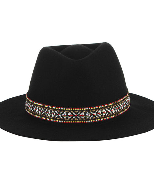 Let's Rock Wool Fedora