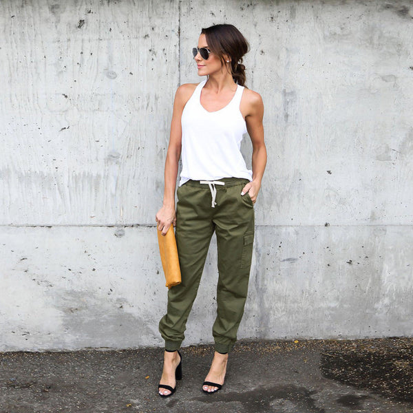 Fitted Women's Cargo Pants