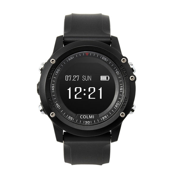 Bluetooth waterproof smartwatch with heart rate tracker