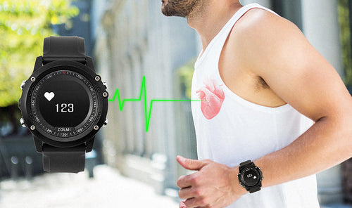 Bluetooth smart watch heart rate tracker fitness