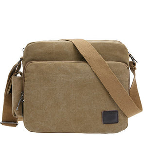 Canvas Travel Messenger Bag