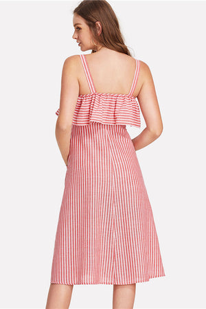 Audrey Button Up Day Dress