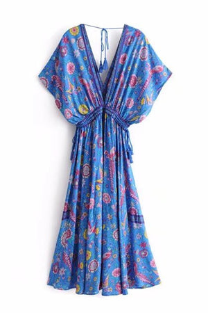 Wallflower Wrap Dress