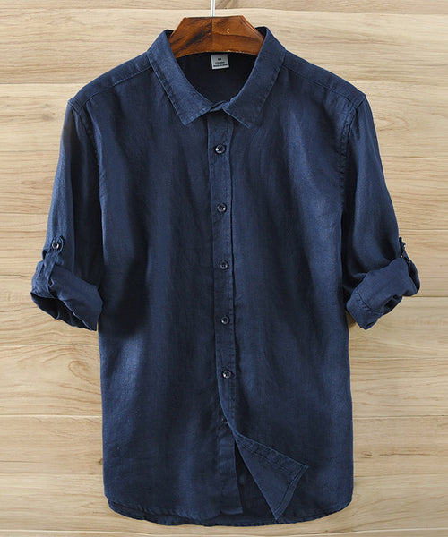 Linen Button Up Shirt