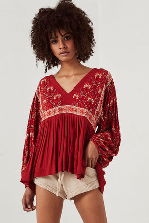 Marin Cotton Boho Blouse