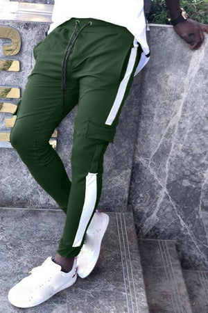 Men's Cargo Athletic Pants