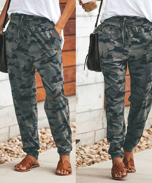 Camo Comfort Travel Pants