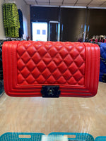 Milan bag - red