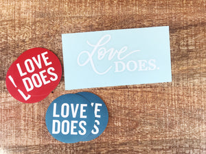 Love Does Sticker Pack