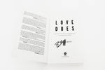 Love Does: Softcover, Signed