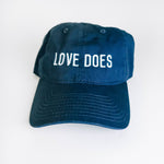 """Love Does"" Baseball Cap"
