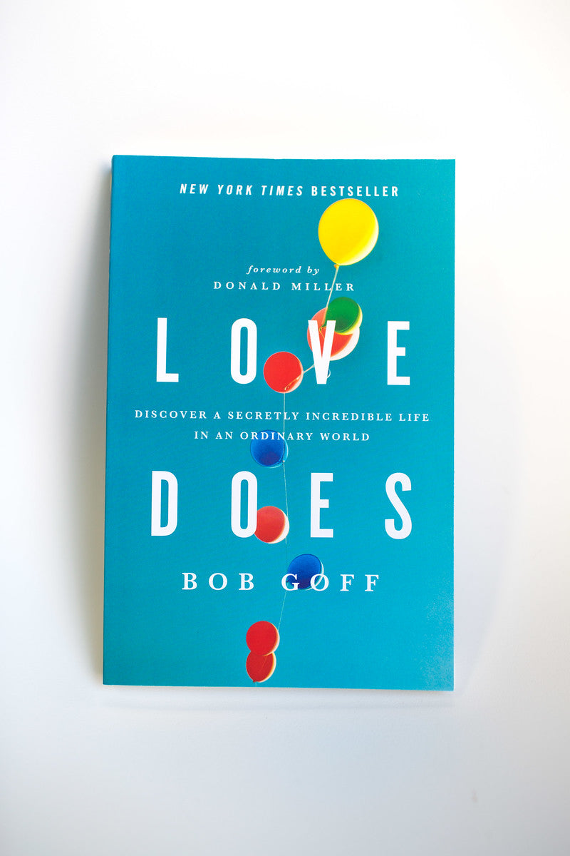 Love Does: Softcover, Unsigned