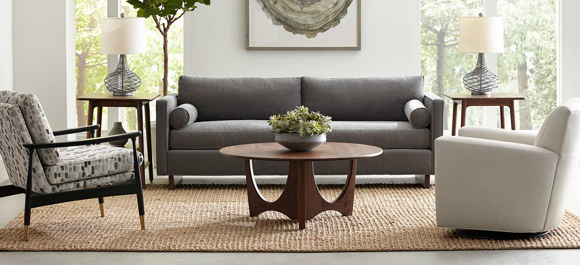 Stickley Paxton Sofa - Walnut Grove Collection