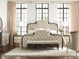 Everly King Bed Bed Caracole - Jordans Interiors