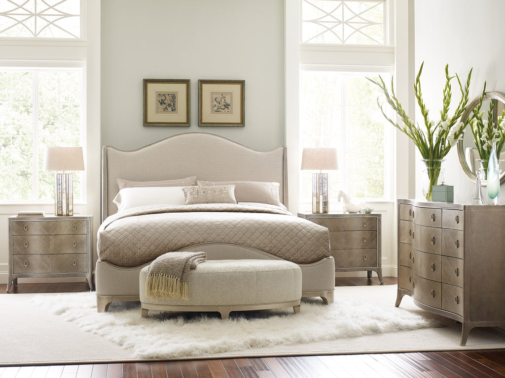 Avondale Upholstered Bed Bed Caracole - Jordans Interiors
