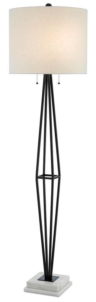 Colton Floor Lamp Floor Lamp Currey - Jordans Interiors