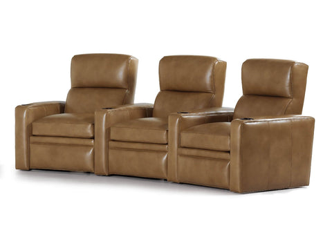 Savoy Armless Power Recliner Sectional Hancock & Moore - Jordans Interiors
