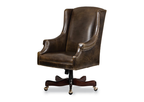 Greyson Swivel Tilt Pneumatic Lift Chair Office Chair Hancock & Moore - Jordans Interiors