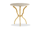 Myst Round Lamp Table Side Table Hancock & Moore - Jordans Interiors