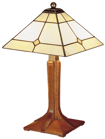 Small Corbel Base Lamp Table Lamp Stickley - Jordans Interiors