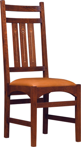 Harvey Ellis Side Chair, With Inlay Dining Chair Stickley - Jordans Interiors