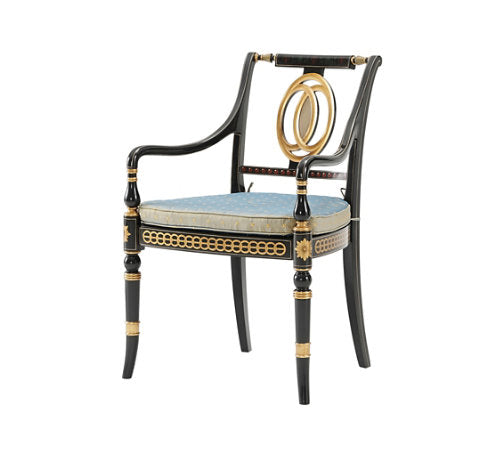 Coronet Armchair Dining Chair Althorp by TA - Jordans Interiors