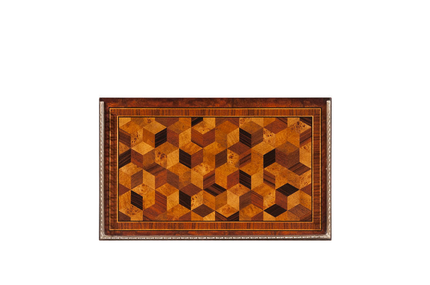 The South Drawing Room Parquetry Tables - Jordans Interiors