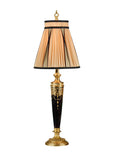 Glass With Gold Lamp Table Lamp Wildwood - Jordans Interiors