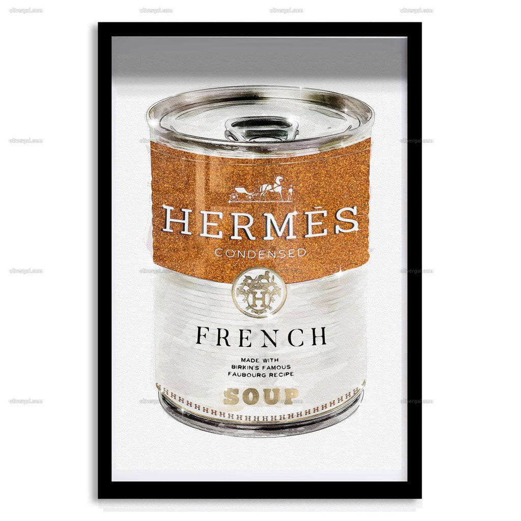 French Luxe Soup Artwork Oliver Gal - Jordans Interiors