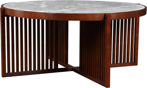 Park Slope Round Cocktail Table Coffee Table Stickley - Jordans Interiors