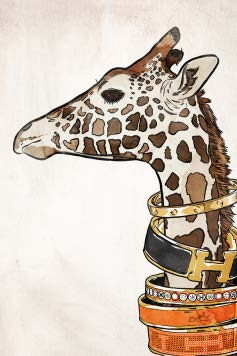 Luxurious Giraffe Artwork Oliver Gal - Jordans Interiors