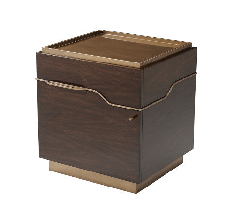 Mesa Night Stand - Small Night Stand Michael Berman by TA - Jordans Interiors