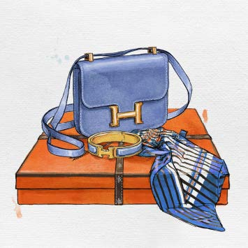 My Bag Collection VI Artwork Oliver Gal - Jordans Interiors