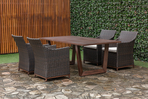 Princeton Bacall Patio Set Outdoor Creative Living - Jordans Interiors