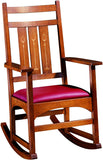 Harvey Ellis Rocker, With Inlay Accent Chair Stickley - Jordans Interiors