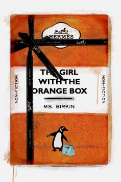 The Girl With The Orange Box Artwork Oliver Gal - Jordans Interiors