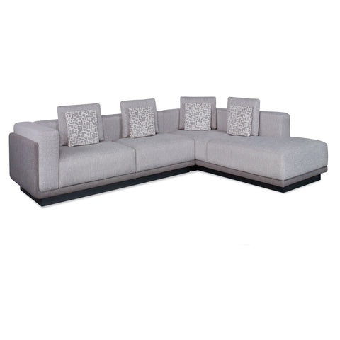 Bossa 2pc Sectional Sectional Lazar - Jordans Interiors
