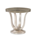Avondale Round End Table Side Table Caracole - Jordans Interiors
