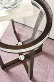 Depth Perception Side Table Side Table Caracole - Jordans Interiors