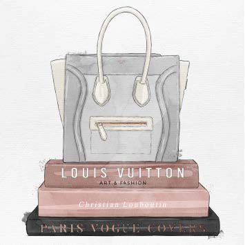 My Fancy Purse And Books Framed Art Oliver Gal - Jordans Interiors